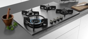 Kitchen Built-in hob top Gas Stove