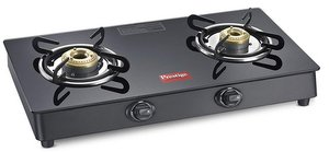 Prestige Marvel Plus Glass 2 Burner Gas Stove