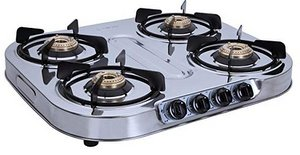 Elica Stainless Stee Gas Stove